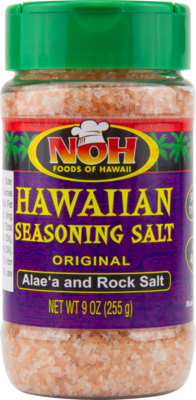 NOH Hawaiian Sea Salt Alae'a & Rock Salt 9oz
