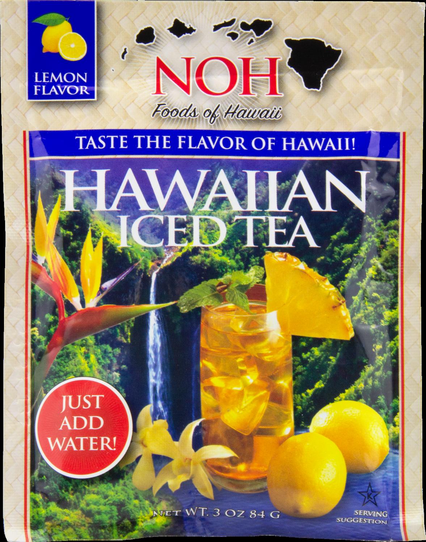 NOH Hawaiian Iced Tea Lemon Flavor 3oz
