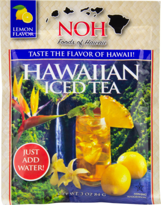 NOH Hawaiian Iced Tea Lemon Flavor 3oz