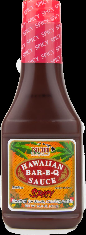 NOH Hawaiian BBQ Sauce Spicy 14.5 oz