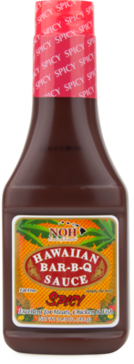 NOH Hawaiian BBQ Sauce Spicy 14.5 oz