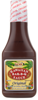 NOH Hawaiian BBQ Sauce Original 14.5 oz