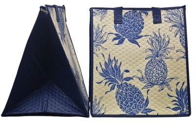 Tropical Paper Garden - Insulated Large Bag - MAUI GOLD CREAM