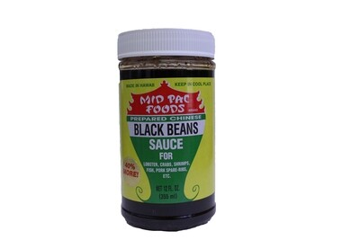 Mid Pac Black Bean Sauce 12oz.