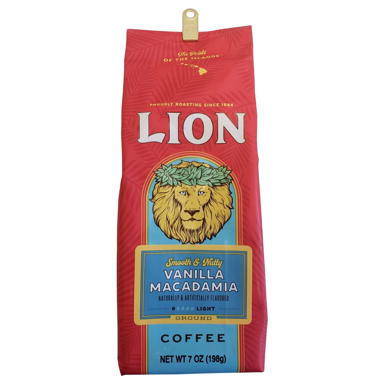 Lion  Vanilla Macadamia Ground Coffee 7 oz