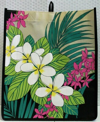 Tropical Paper Garden ECO Bag -Eco Honokaa Days Black