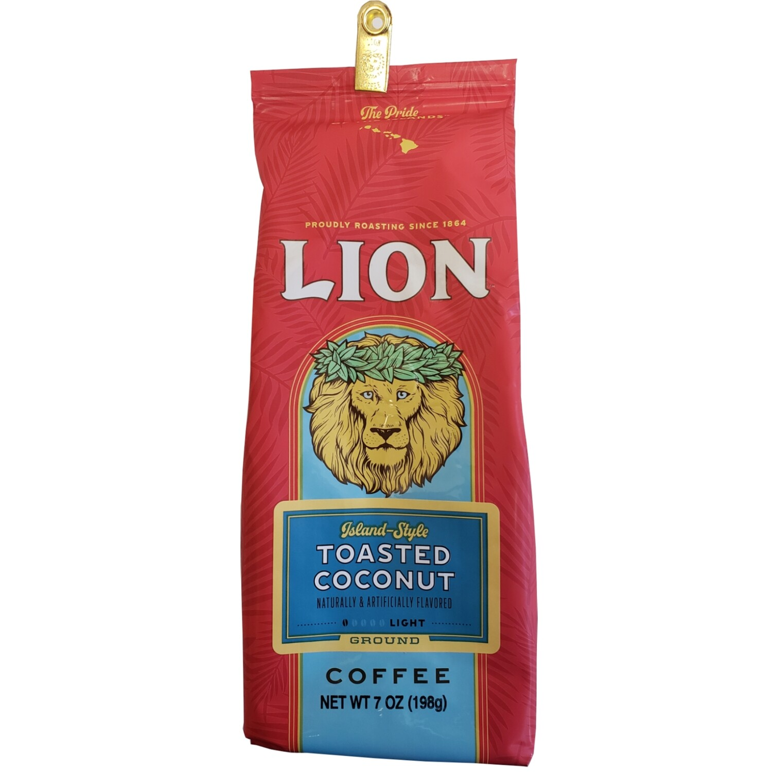 Lion Toasted Coconut Ground Coffee 7 oz