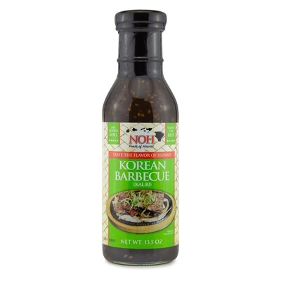 Noh Korean BBQ (Kalbi)  Sauce 14.5 oz