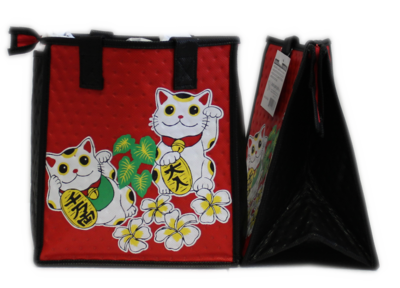 Tropical Paper Garden - Insulated Small Bag - DOKI DOKI RED