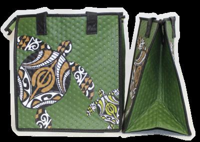 Tropical Paper Garden - Insulated Medium Bag - HONOLUA OLIVE