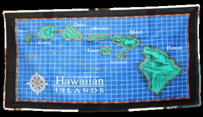 """Beach Towel - Island Chain 30"""" x  60"""""""