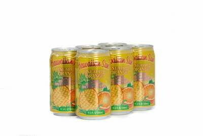 Hawaiian Sun Drink - Pineapple Orange 11.5 oz (Pack of 6)