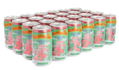 Hawaiian Sun Drink - Green Tea With Lychee 11.5 oz (Pack of 24)