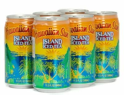 Hawaiian Sun Drink - Island Iced Tea 11. 5oz (Pack of 6)