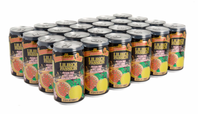 Hawaiian Sun Drink - Lilikoi Passion 11.5 oz (Pack of 24)