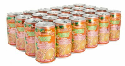 Hawaiian Sun Drink - Passion Orange 11.5 oz (Pack of 24)