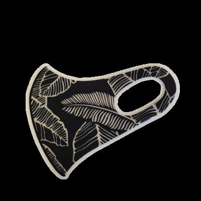 Adults Polyester/Spandex Washable Mask -  Black Forrest