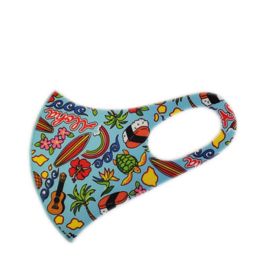 Adults Polyester/Spandex Washable Mask -  Locals Favorite