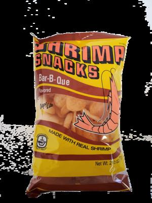 Marco Polo Brand Shrimp Chips Bar-B-Que 2.5 oz.