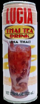 Lucia Thai Tea Drink 17.5 oz (Cha Thai)