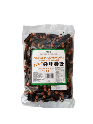 HB Honey Norimaki Rice Cracker 8 oz