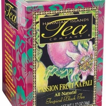Hawaiian Islands Tea Co. Passion Fruit Napali 20CT/EA 1.27oz