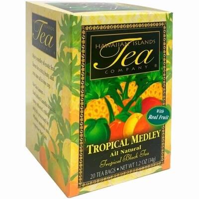 Hawaiian Islands Tea Co. Tropical Medley Black Tea 20CT/EA 1.27oz