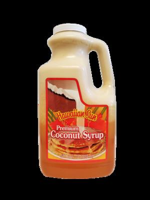 Hawaiian Sun Premium Coconut Syrup 64 oz Jug