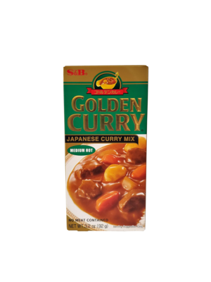 S&B Golden Curry Medium Hot 3.2oz