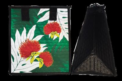 Tropical Paper Garden - Insulated Small Bag - ADORN GREEN