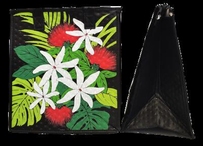 Tropical Paper Garden - Insulated Medium Bag -  UPCOUNTRY BLACK