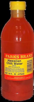 Hawaiian Chili Water Parks Brand 16 oz