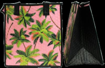 Tropical Paper Garden - Insulated Medium Bag - PALM TREES PINK