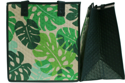 Tropical Paper Garden - Insulated Medium Bag - HIDE AND SEEK GREEN