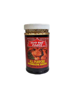 Mid Pac All Purpose Barbecue Sauce 12 oz