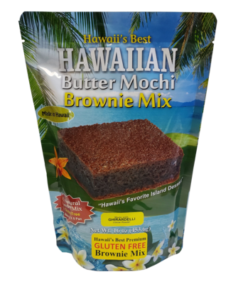 Hawaii's Best Hawaiian Butter Mochi Brownie Mix 16oz