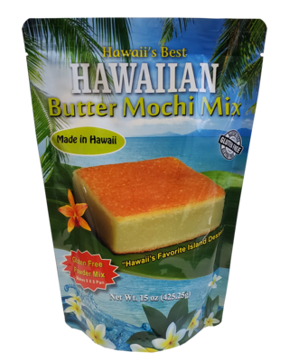 Hawaii's Best Hawaiian Butter Mochi Mix 15oz