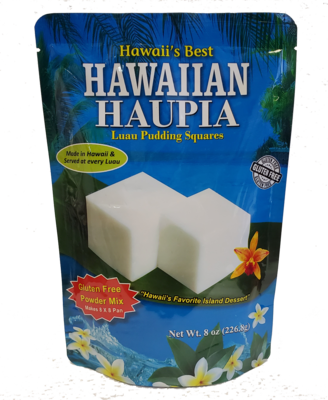 Hawaii's Best Hawaiian Haupia - Luau Pudding Squares 8oz