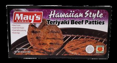 May's Teriyaki Beef Patties 2 lb