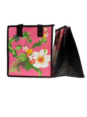 Tropical Paper Garden - Insulated Small Bag - LIMAHULI PET PINK