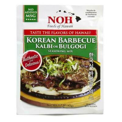NOH Korean Barbecue- Kal Bi 1.5oz