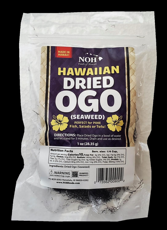 NOH Dried OGO (Seaweed)  1.0 oz