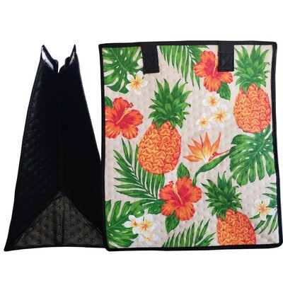 Tropical Paper Garden - Insulated Large Bag - ALTERNATIVE CREAM