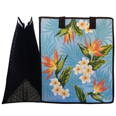 Tropical Paper Garden - Insulated Large Bag - VINCE SKY