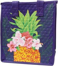 Tropical Paper Garden - Insulated Small Bag - BOTTEGA PET PURPLE