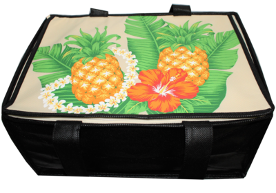 Tropical Paper Garden - Insulated Casserole Bag Large- HULA HOOP CREAM