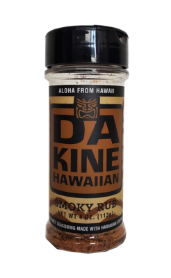 Da Kine Hawaiian Da Rub Smoky Gourmet Seasoning 4 oz
