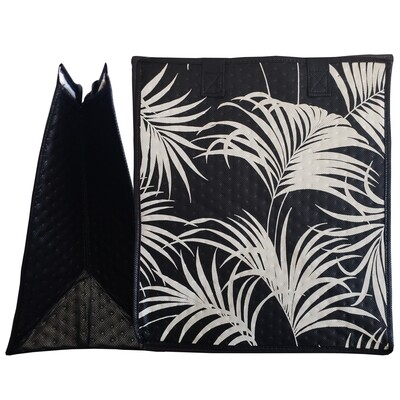 Tropical Paper Garden - Insulated Large Bag - KIHEI BLACK
