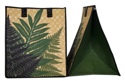 Tropical Paper Garden - Insulated Large Bag - HALA FERN