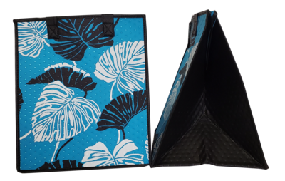 Tropical Paper Garden - Insulated Large Bag - ACE TURQ